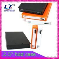 China 2.5 portable hard drive case hdd enclsure on sale
