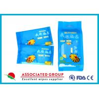 Individual Packaging Wet Wipes 1PCS* 10/Bag Fragrance Free Cotton-like Texture Manufactures