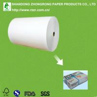 China PE coated board for chilled food boxes on sale
