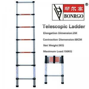 7 Step Aluminium Telescopic Ladder Manufactures