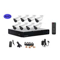 8 Channel Wireless CCTV Security Camera Systems , PTZ Security Cameras Manufactures