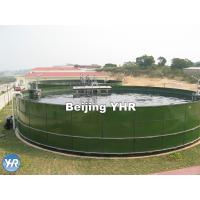 Corrosion Resistance Drinking Water Storage Tank 0.25 - 0.45 Mm Coat Thickness Manufactures
