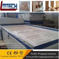 automatical woodworking membrane vacuum press machinery Manufactures
