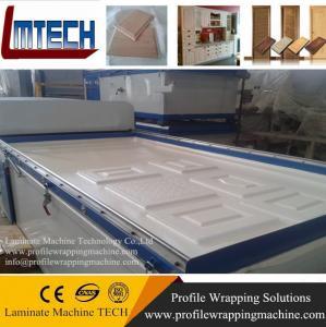 China PVC MDF door vacuum membrane press machine on sale