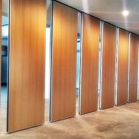 Aluminum Sliding Movable Partition Wall For Restaurant 85 mm Thickness Manufactures