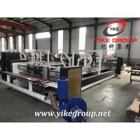 Corrugated Paper Box Automatic Folder Gluer / Folding Gluing Machine For Carton Boxes Manufactures