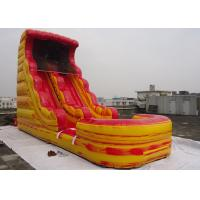 Giant Inflatable Water Slide With Pool For Kids / Adults Amusement Inflatable Pirate Ship Manufactures