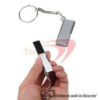 Swivel USB 4GB U Disk/Driver/USB Stick with Keychain-Silvery Manufactures