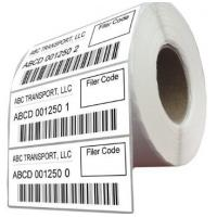 Durable Logistic Labels Customized Size For Delivery / Shipping Manufactures