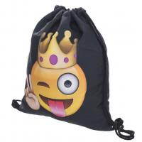 DIY Cute Printed Drawstring Bags Athletic Heat Transfer Printing For Childrens Manufactures