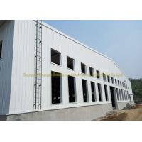Wide Span Warehouse Steel Structure Prefabricated Warehouse Buildings In Steel Manufactures
