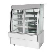wholesale price commercial cake display showcase with front open door Manufactures