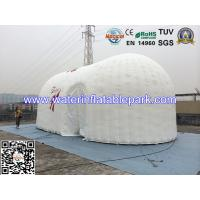12m White Oxford Bubble Inflatable Camping Tent Family For Banquet Manufactures