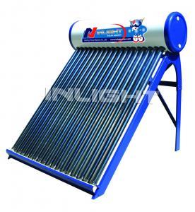 400L  color steel 47/1500 unpressurized CE certificate white solar geyser