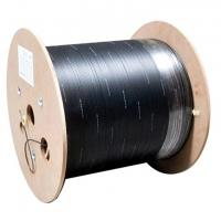 Single Mode FTTH Fiber Optic Drop Cable G.657 Indoor Outdoor 2 Core Custom Length Manufactures
