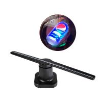 China 42cm 3d Hologram Advertising Display , 12V 3d Holographic Led Fan With Sd Card on sale