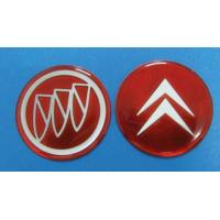 China Various Reflective Epoxy Resin Stickers in Different Cars Decoration on sale