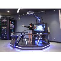 Free Walk Virtual Reality Standing Shooting Game Machine With 360 Degree Rotation Manufactures