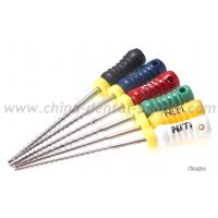 Cheap Nickel Titanium Rotary Endo Files , Dental H File Endodontics For Endodontic Treatment for sale