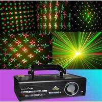 CE&RoHS Sound activated full color RGB flower gobo party, Clubs laser effect lighting A6 Manufactures