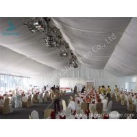 20m Width Outdoor Event Tents , Full Decorations Large Tents For Outdoor Events Manufactures