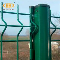 3d curved wire mesh fence Manufactures