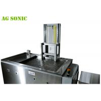 SUS304/SUS316L Automotive Ultrasonic Cleaner to Rims with Pneumatic Lift 360L 28K Manufactures