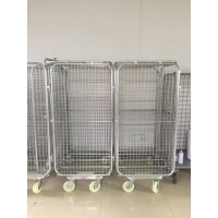 Collapsible Warehouse Roll Cage 1000*800*1600mm With 500kg Load Manufactures
