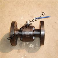 China Three-Pieces Type Forged Floating Ball Valve (F304 F316 A105) on sale