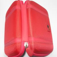Red Hard Disk Pouch Waterproof EVA With Carry Handle For Women Manufactures