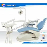 CE Approved modern ergonomic Leather dental operatory chairs With LED Sensor Light Manufactures