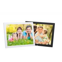 Cheap 15W 350cm / d LCD Digital Photo Frame With Video Loop Play for sale