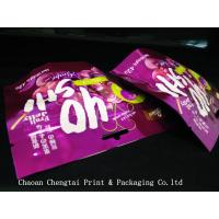 China Dried Food Stand Up Pouches Gravure Printing Surface Handling on sale