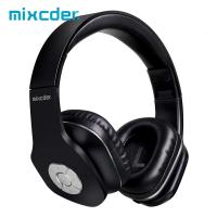 China Ausdom Mixcder Cheap On Ear Foldable Large Button Stereo Headband Handsfree Light Bluetooth Headphones With Microphone on sale