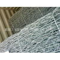 Hot Dipped Galvanized Welded Wire Mesh3 X 1 X 1m For Water / Soil Protection Manufactures