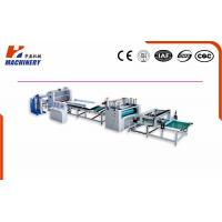Pur Laminating Machine HF1300 Hot-Melt Glue For Board Thickness 2-50mm Manufactures