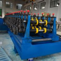 Galvanized Steel / Black Steel Cable Tray Making Machine GCr15 Roller Quench Manufactures