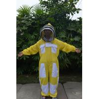 Yellow Color New type Ventilated Bee Suit of Beekeeping Protective Clothing Manufactures