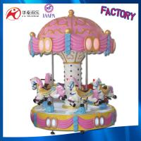 6 seats luxury carousel music merry go round carousel for sale from China Manufactures