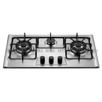 Cheap SS37611 76cm Stainless steel built-in gas stove/ gas range/ gas fire/ cooktop/ range for sale