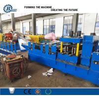 Automatic C Z Shape Purlin Interchange Roll Forming Machine For Purlin