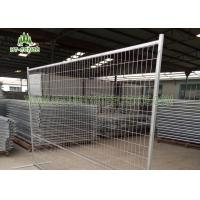 China Square Tube Frame Temporary Fence Panels , Construction Temporary Fencing  on sale