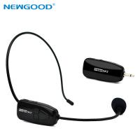 China NEWGOOD 2.4Ggz Wireless Microphone Speech Headset Megaphone Mic For Teaching Meeting Tour Guide on sale