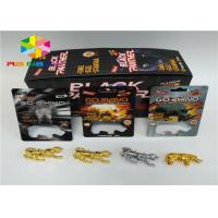 China Male Enhancement Pills Blister Pack Packaging 3D Rhino Blister Card For Capsules Package on sale