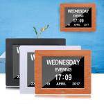 Digital Clock Invitation Lcd Video Greeting Card 5 Alarm Options 1024*768 Resolution Manufactures