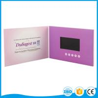 Cheap 2.4 To 10 Inch Video Mailer Card A4 / A5 Mp3 / Mp4 Customize Lcd Screen for sale