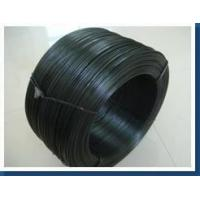 Cheap Soft black annealed wire , enameled iron wire good corrosion resistance for sale