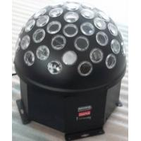 RGB 15w 30 Degrees Led Disco Stage Lights Crystal Magic Ball 7 Colors for Nightclub Manufactures
