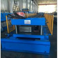 Cheap Sheet Length 2000 - 6000mm Press Punching PLC Cable Tray Machine Gear Box Driven for sale