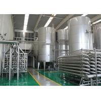 Bottled Complete Pasteurized Milk Processing Line for 5000l Per Hour